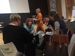 Анна Татьянина на 7-й конференции фасилитаторов в Москве